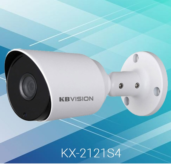 Camera-bullet-KBVision-KX-2121S4-Dome-Analog-Full-HD-1080p-HD-CVI-HD-TVI-AHD-2.0MP